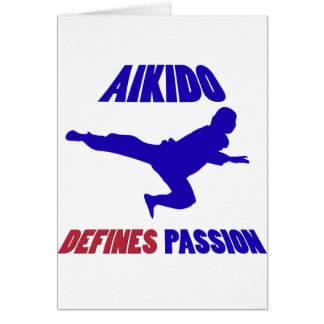 aikido min passion hälsningskort
