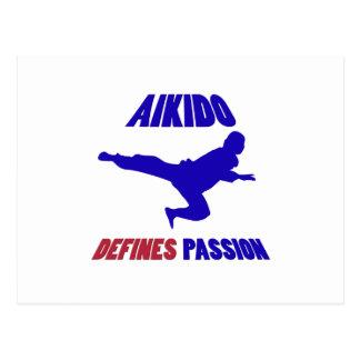 aikido min passion vykort