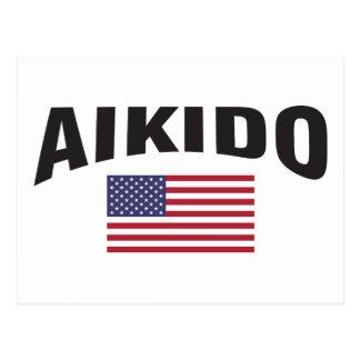 Aikido United States sjunker Vykort