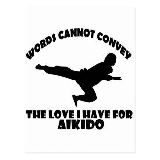 Aikidodesigner Vykort