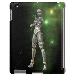 aikobot & stjärnor iPad fodral