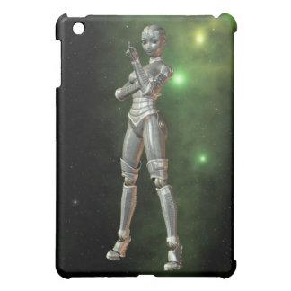aikobot & stjärnor iPad mini skydd