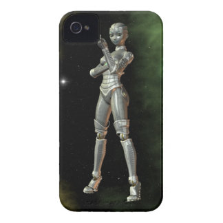 aikobot & stjärnor iPhone 4 cover