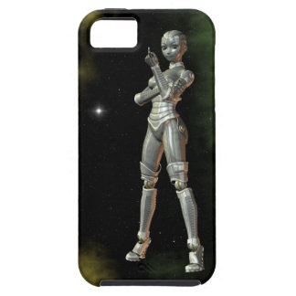 aikobot & stjärnor iPhone 5 cover