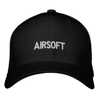 airsoft broderad hatt
