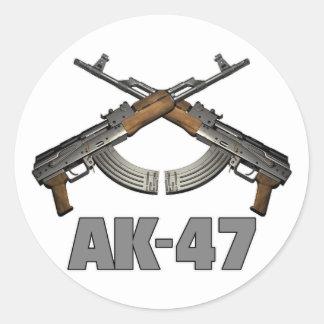 AK47 RUNT KLISTERMÄRKE