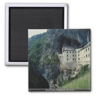 Akademikert slott, Predjamski, Slovenien Magnet