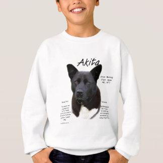 Akita (blk) historiedesign tshirts