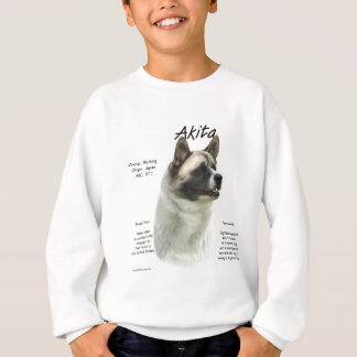 Akita (pinto) historiedesign t shirts