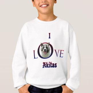 Akita som jag älskar tshirts
