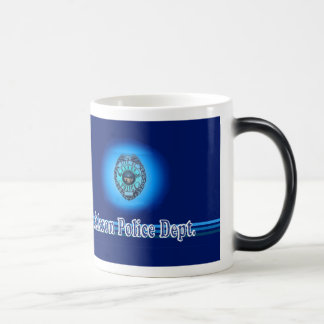 Akron Ohio polisenMug. Magisk Mugg