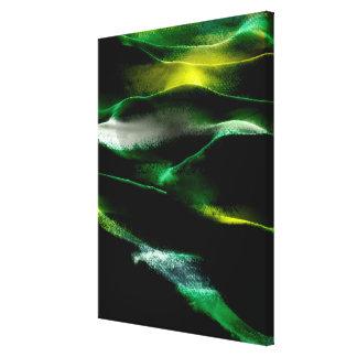 Akryl #3 för målningsanddyner canvastryck