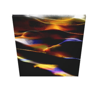 Akryl #4 för målningsanddyner canvastryck