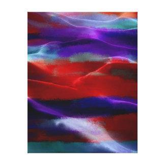 Akryl #6 för målningsanddyner canvastryck