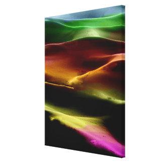 Akryl #9 för målningsanddyner canvastryck