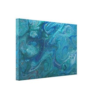 Akrylen häller konstkanfas canvastryck