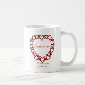 Äkta kärlek Beauceron Kaffemugg
