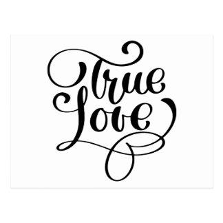Äkta kärlek möhippa för svart- & vykort