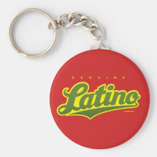 Äkta Latino - keychain (grönt/rött) Rund Nyckelring