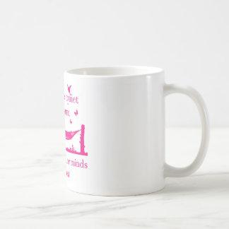 Akta sig den tyst bokmalen (rosor) kaffemugg
