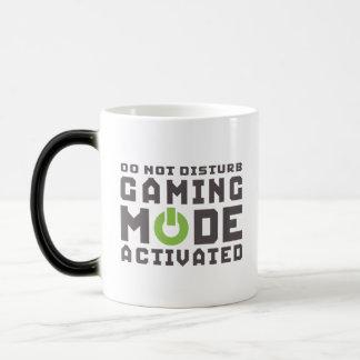 Aktiverade Gamers för dobbel funktionsläge och Magisk Mugg