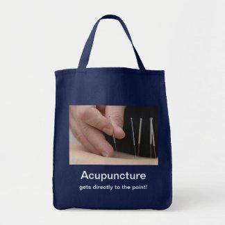 Akupunktur får till peka! tygkasse