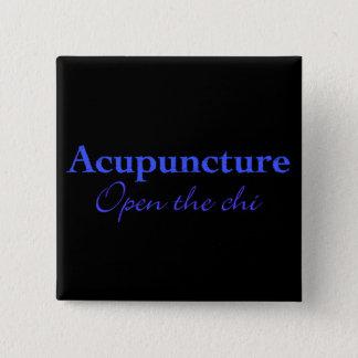 Akupunktur - öppna chien standard kanpp fyrkantig 5.1 cm