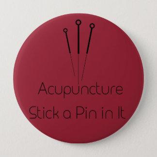 Akupunktur Stor Knapp Rund 10.2 Cm