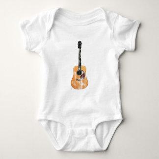Akustisk bedrövad gitarrlodrät t-shirts