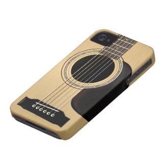 Akustisk gitarr Case-Mate iPhone 4 case