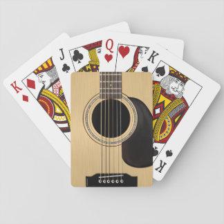 Akustisk gitarr casinokort