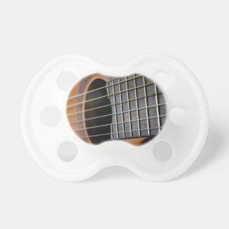 Akustisk gitarr för klassiker napp