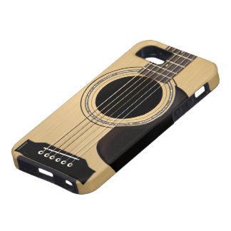 Akustisk gitarr iPhone 5 Case-Mate cases