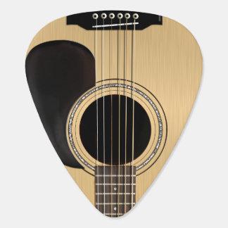 Akustisk gitarr plektrum
