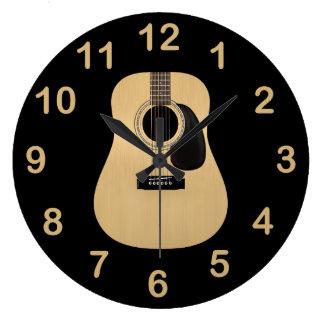 Akustisk gitarr stor klocka