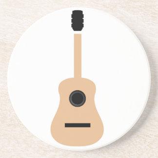 Akustisk gitarr underlägg sandsten