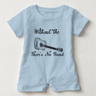 Akustisk gitarrbabyRomper T Shirt