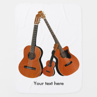 Akustisk gitarrUkulele och akustisk bas Bebisfilt