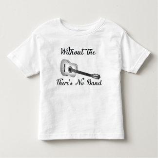 Akustisk Jersey för gitarrsmåbarnbra utslagsplats T-shirt