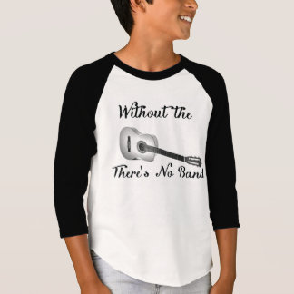 Akustisk trasa för sleeve för ¾ för dräkt för t-shirts