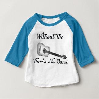 Akustisk trasa för sleeve för ¾ för dräkt för tee shirt