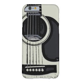 Akustiskt fodral för gitarriPhone 6 Barely There iPhone 6 Fodral