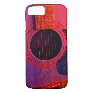 Akustiskt fodral för iPhone 7 för gitarr knappt