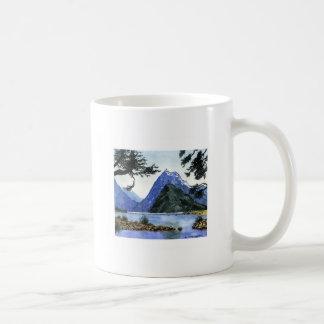 Akvarellberg Kaffemugg