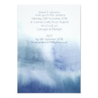 Akvarellbröllopinbjudan 12,7 X 17,8 Cm Inbjudningskort