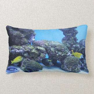 Akvariumlumbaren kudder dekorativ kudde