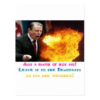 Al Gore hettluft Vykort