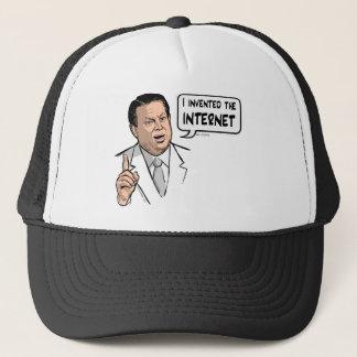 Al Gore uppfann jag internet Keps