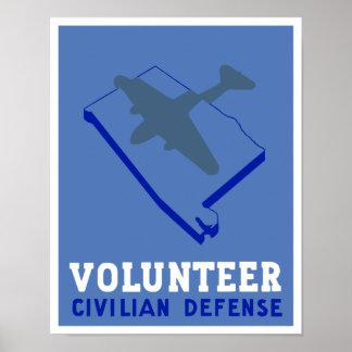 Alabama civilistförsvar -- WPA Poster