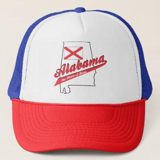 Alabama hjärta av Dixie Truckerkeps